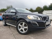 USED 2013 13 VOLVO XC60 2.4 D5 R-DESIGN AWD 5d AUTO 212 BHP 2KEYS+LEATHER+PRIVGLASS+AUX+