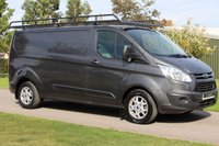 2015 FORD TRANSIT CUSTOM 2.2 290 LIMITED LR P/V 1d 124 BHP