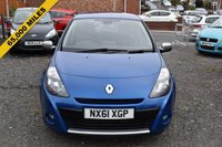 USED 2011 61 RENAULT CLIO 1.1 DYNAMIQUE TOMTOM TCE 5d 100 BHP FULL SERVICE HISTORY - 65,000 GUARANTEED MILES - 2 OWNERS FROM NEW