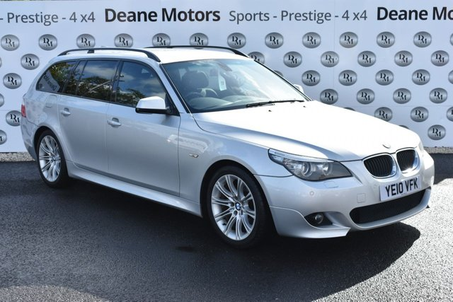 2010 10 BMW 5 SERIES 2.0 520D M SPORT BUSINESS EDITION TOURING 5d 175 BHP