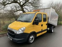 USED 2014 14 IVECO DAILY 2.3 35C13DOUBLE CAB ARBORIST TIPPER 1 COUNCIL OWNER