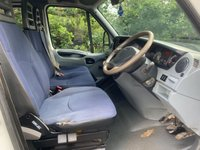 USED 2007 07 IVECO DAILY 3.0 LTR 150 BHP 35C15 DOUBLE CAB TIPPER
