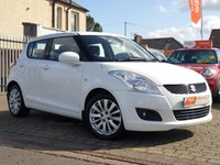 USED 2011 60 SUZUKI SWIFT 1.2 SZ3 5d 94 BHP AS ALWAYS ALL CARS FROM EDINBURGH CAR STORE COME WITH 1 YEARS FULL MOT ,1 FULL RAC INSPECTION SERVICE AND 6 MONTH RAC WARRANTY INCLUDING  12 MONTHS RAC BREAKDOWN RECOVERY FREE OF CHARGE!      PLEASE CALL IF YOU DONT SEE WHAT YOUR LOOKING FOR AND WE WILL CHECK OUR OTHER BRANCHES.  WE HAVE  OVER 100 CARS IN DEALER STOCK