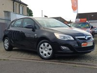 USED 2011 60 VAUXHALL ASTRA 1.4 EXCLUSIV 5d 98 BHP AS ALWAYS ALL CARS FROM EDINBURGH CAR STORE COME WITH 1 YEARS FULL MOT ,1 FULL RAC INSPECTION SERVICE AND 6 MONTH RAC WARRANTY INCLUDING  12 MONTHS RAC BREAKDOWN RECOVERY FREE OF CHARGE!      PLEASE CALL IF YOU DONT SEE WHAT YOUR LOOKING FOR AND WE WILL CHECK OUR OTHER BRANCHES.  WE HAVE  OVER 100 CARS IN DEALER STOCK
