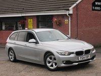 2014 BMW 3 SERIES 320D EFFICIENTDYNAMICS (£2,870 OF EXTRAS+SAT NAV) TOURING 5dr £7690.00