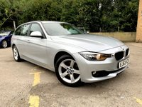 2013 BMW 3 SERIES 2.0 320D XDRIVE SE TOURING 5d FULL BLACK LEATHER ONLY 61K £10000.00