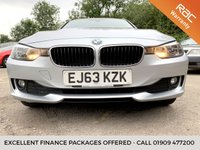 USED 2013 63 BMW 3 SERIES 2.0 320D XDRIVE SE TOURING 5d FULL BLACK LEATHER ONLY 61K FULL LEATHER, 1 OWNER FROM NEW, X DRIVE