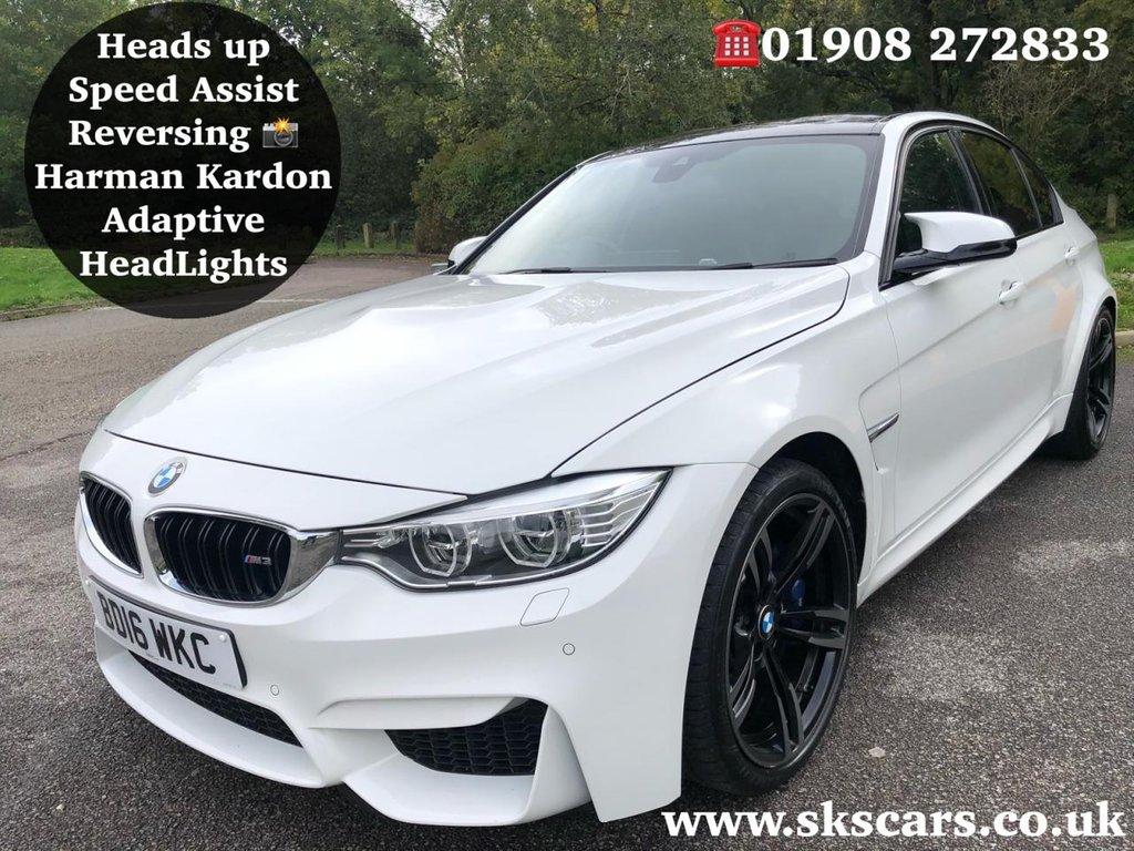 USED 2016 16 BMW M3 3.0 M3 4d AUTO 426 BHP BMW SERVICE PACK TILL APRIL 2021