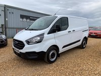 2018 FORD TRANSIT CUSTOM 2.0 300 BASE P/V L1 H1 1d 104 BHP £11990.00