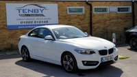 USED 2015 65 BMW 2 SERIES 1.5 218I SPORT 2d AUTO 134 BHP