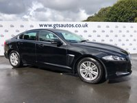 USED 2012 12 JAGUAR XF 2.2 D LUXURY AUTO 190 BHP WINTER PACK