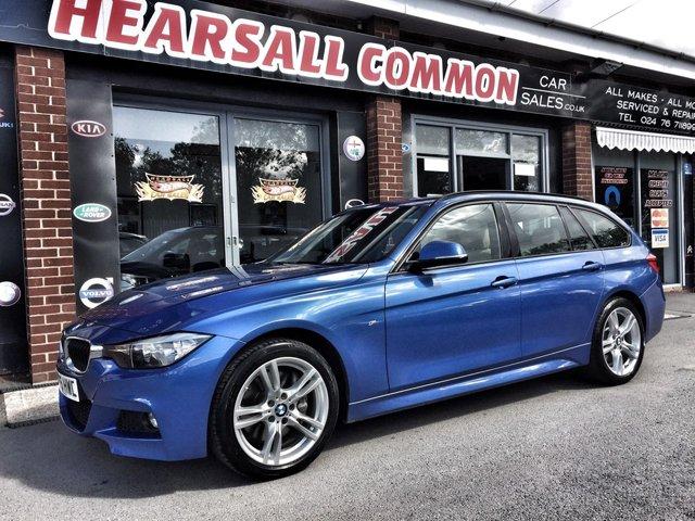 USED 2015 55 BMW 3 SERIES 3.0 335D XDRIVE M SPORT TOURING 5d AUTO 308 BHP