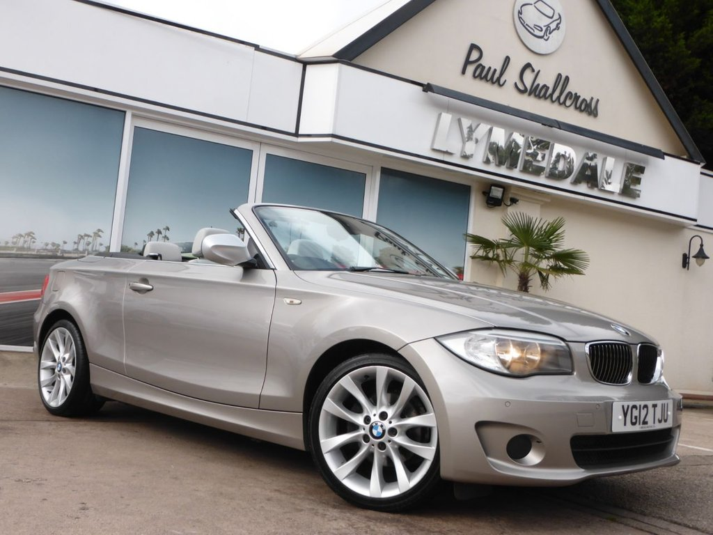 USED 2012 51 BMW 1 SERIES 2.0 118D EXCLUSIVE EDITION 2d 141 BHP
