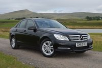 USED 2013 MERCEDES-BENZ C CLASS 2.1 C220 CDI BLUEEFFICIENCY EXECUTIVE SE 4d 168 BHP