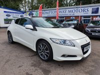 USED 2012 62 HONDA CR-Z 1.5 I-VTEC IMA GT 3d 113 BHP 0%  FINANCE AVAILABLE ON THIS CAR PLEASE CALL 01204 393 181