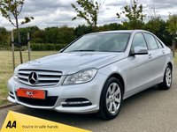 USED 2012 62 MERCEDES-BENZ C CLASS 2.1 C220 CDI BLUEEFFICIENCY EXECUTIVE SE 4d 168 BHP LEATHER* SAT NAV* FSH*