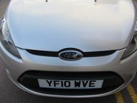 USED 2010 10 FORD FIESTA 1.4 EDGE 5d AUTO 96 BHP + AUTOMATIC + LOW MILEAGE +