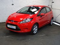 2011 FORD FIESTA 1.2 EDGE 5d 81 BHP £4590.00