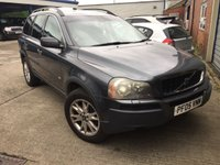 USED 2005 05 VOLVO XC90 2.4 D5 SE 5d 161 BHP MOT 04/20 7 SEATER. GREY WITH BLACK LEATHER TRIM. HEATED SEATS. CRUISE CONTROL. 17 INCH ALLOYS. COLOUR CODED TRIMS. PRIVACY GLASS. AIR CON. R/CD PLAYER. AUTO GEARBOX. MFSW. MOT 01420. AGE/MILEAGE RELATED SALE. P/X CLEARANCE CENTRE - LS24 8EJ. TEL 01937 849492 OPTION 4
