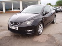 2013 SEAT IBIZA 1.6 CR TDI FR 3d 104 BHP £4995.00