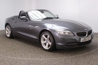 USED 2013 63 BMW Z4 2.0 Z4 SDRIVE20I ROADSTER 2DR 181 BHP FULL BMW SERVICE HISTORY + LEATHER SEATS + BLUETOOTH + CLIMATE CONTROL + MULTI FUNCTION WHEEL + DAB RADIO + XENON HEADLIGHTS + ELECTRIC WINDOWS + ELECTRIC MIRRORS + 17 INCH ALLOY WHEELS