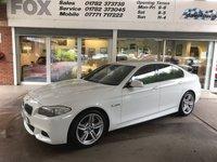 2012 BMW 5 SERIES 2.0 528I M SPORT 4d AUTO 242 BHP £13475.00