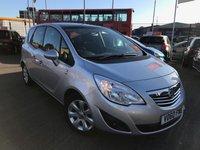 USED 2011 60 VAUXHALL MERIVA 1.4L SE 5d 119 BHP