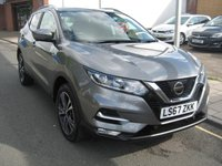USED 2017 67 NISSAN QASHQAI 1.5 N-CONNECTA DCI 5d 108 BHP 1 owner, only 16,962 miles,service history,  sat nav, diamond cut alloys, 360 degree around car cameras, Dab radio, cruise control.