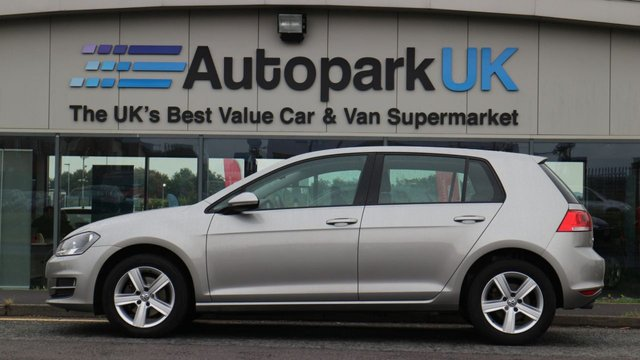 USED 2016 16 VOLKSWAGEN GOLF 1.6 MATCH EDITION TDI BMT 5d 109 BHP LOW DEPOSIT OR NO DEPOSIT FINANCE AVAILABLE
