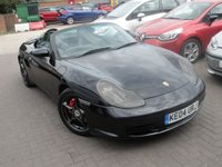 USED 2004 04 PORSCHE BOXSTER 3.2 24V S 2d 260 BHP ANY PART EXCHANGE WELCOME, COUNTRY WIDE DELIVERY ARRANGED, HUGE SPEC