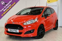 USED 2013 13 FORD FIESTA 1.0 ZETEC S 3d 124 BHP ***SOLD***