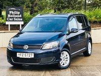USED 2015 VOLKSWAGEN TOURAN 2.0 SE TDI BLUEMOTION TECHNOLOGY 5d 138 BHP 7SEATS Front / Rear park assist, Rear privacy, Cruise control