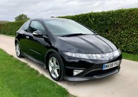 USED 2008 08 HONDA CIVIC 1.8 I-VTEC TYPE-S GT 3d 139 BHP, FULL SERVICE HISTORY, 1 PREVIOUS OWNER