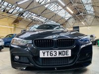 USED 2013 63 BMW 3 SERIES 2.0 318d M Sport (s/s) 4dr PERFORMANCE KIT 19S ALL BLACK!