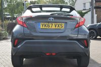 USED 2017 67 TOYOTA CHR 1.8 VVT-h Icon CVT (s/s) 5dr 1 OWNER CAMERA DAB LEATHERS