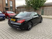 USED 2018 18 MERCEDES-BENZ CLA 1.6L CLA 180 AMG LINE 4d 121 BHP XENONS, SLIDING PANROOF, R.CAM, WARRANTY, FINANCE