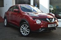 USED 2016 16 NISSAN JUKE 1.5 ACENTA DCI 5d 110 BHP LOW MILEAGE JUKE DIESEL WITH £20 ROAD TAX