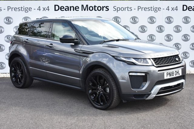 2018 18 LAND ROVER RANGE ROVER EVOQUE 2.0 TD4 HSE DYNAMIC LUX 5d AUTO 177 BHP SALE TAKE £300 OFF