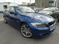 USED 2010 59 BMW 3 SERIES 2.0 320D M SPORT BUSINESS EDITION 4d 175 BHP GREAT CONDITION+SPEC