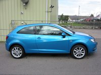 USED 2015 65 SEAT IBIZA 1.4 TOCA 3d 85 BHP 1 OWNER  IN IMMACULATE CONDITION