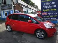USED 2009 59 HONDA JAZZ 1.3 I-VTEC EX 5d 98 BHP, only 65000 miles ***APPROVED DEALER FOR CAR FINANCE247 AND ZUTO  ***