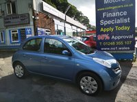 2006 NISSAN MICRA 1.4 SE 5d 88 BHP, only 50000 miles £1995.00