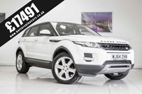 USED 2014 W LAND ROVER RANGE ROVER EVOQUE 2.2 SD4 PURE TECH 5d AUTO 190 BHP September 2020 MOT & Just Been Serviced