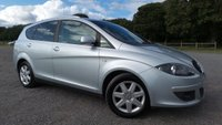 USED 2007 07 SEAT ALTEA XL 1.9 STYLANCE TDI 5d 103 BHP 2 X KEYS, AIR-CONDITIONING, ALLOY WHEELS, REMOTE LOCKING, CD-PLAYER, ELECTRIC WINDOWS, ELECTRIC MIRRORS, REAR PARKING SENSORS, STEERING WHEEL CONTROLS, SUPERB MPG,