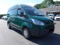 USED 2014 64 FORD TRANSIT CUSTOM TEND L1 H2 SWB HIGHTOP 2.2TDCI 125PS  Direct From Premier Leasing Company With Low Mileage & Full Service History! Higher Specification Trend Model!