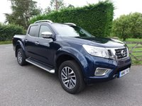 2016 NISSAN NP300 NAVARA TEKNA DOUBLE CAB PICK UP 2.3 DCI 190 BHP AUTOMATIC £12995.00