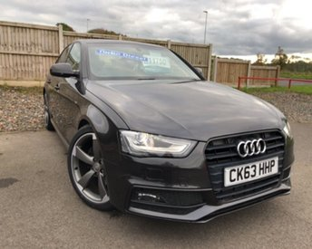 2013 AUDI A4 2.0 TDI BLACK EDITION 4d 141 BHP £11750.00