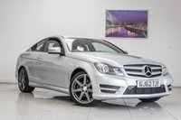 USED 2012 62 MERCEDES-BENZ C CLASS 2.1 C220 CDI BLUEEFFICIENCY AMG SPORT 2d 170 BHP August 2020 MOT & Just Been Serviced
