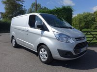 USED 2015 65 FORD TRANSIT CUSTOM 290 LIMITED L1 SWB 2.2TDCI 155 BHP Popular 155Ps Engine Limited Model With High Specification And Low Mileage! Very Clean Example!