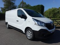 USED 2014 64 RENAULT TRAFIC LL29 L2 LWB BUSINESS 1.6 DCI 115 BHP One Company Owner, 32000 Miles With Many Extras Including Sat Nav, Bluetooth & Parking Sensors!